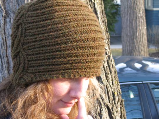 Parallax Knitting Hats
